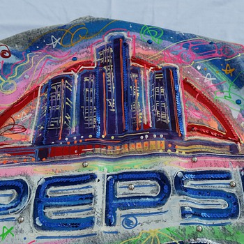 Rare limited Pepsi denim jacket - Advertising
