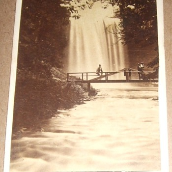 Early image of Minnehaha Falls