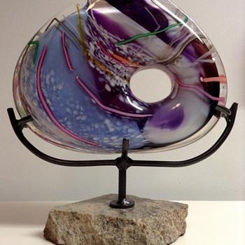 Homer James Yarrito Glass Art Sculpture