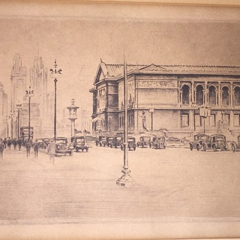 Sketch from 1929 - Visual Art