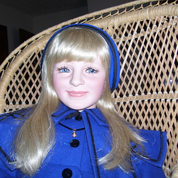 This is one of my Portrait dolls this is Princess Diana as a child 35in tall - Dolls