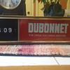 1970s Dubonnet Aperitif Bar Sign with Clock, United Clock Movement, Schenley Industries Mfg.