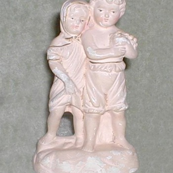 Chalkware figurine - Art Pottery
