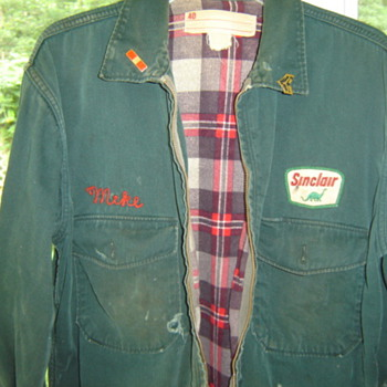 Gas Station Attendant Jacket - Mens Clothing