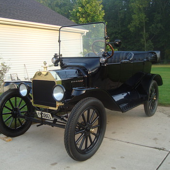 My 1916 Ford Model T