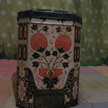 Melroses tea tinbox