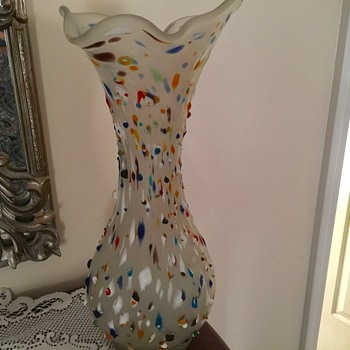Azerbeijan Glassware vase