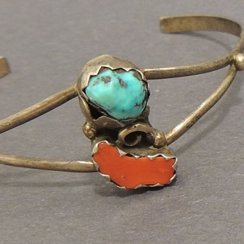 Two Bracelets Possibly Native American - Fine Jewelry