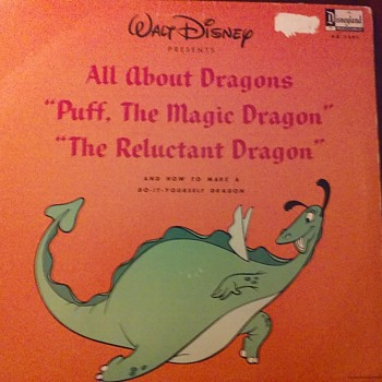 """Puff The Magic Dragon...Lived By The Sea..."""