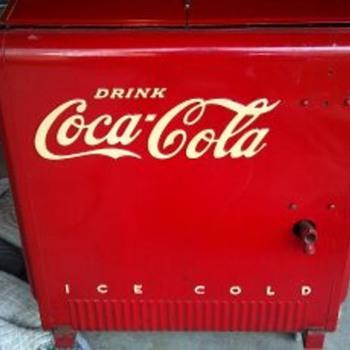 Vintage Coca-Cooler - Coca-Cola