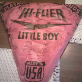 "hi- flier "" little boy"" kite"