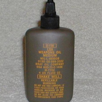 LSA Weapons Oil - circa 1975