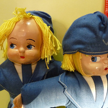 Very Unique dolls made in Hungary 