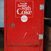 Coca Cola Ideal vending machine, circa early 1950