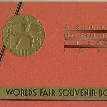 1934 Worlds Fair Souvenir Book
