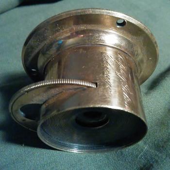 Brass Camera Lens - Cameras