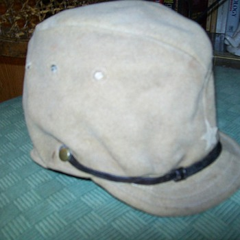 Japanese Field Cap, World War 2 - Military and Wartime