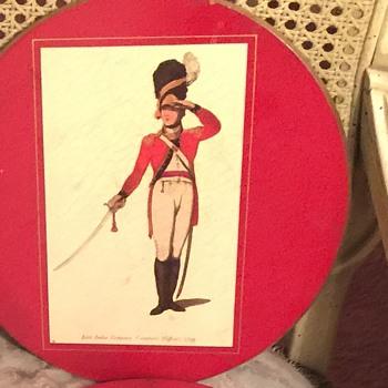 My favorite Eniglish Antique (Set of 6 Different Regiments) I Believe They Are English Tea Caddies - Kitchen