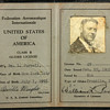 Orville Wright signed licenses (three total)