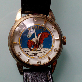 Apollo 11 Wristwatch by Sorna Watch Co.