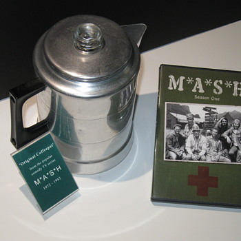 M*A*S*H  .  .  .   Coffeepot