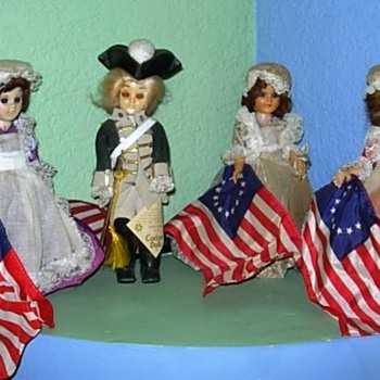 Carlos Dolls Betsy Ross and George Washington - Dolls