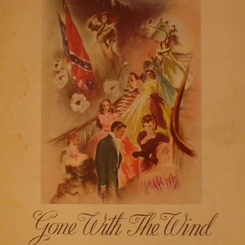 Gone With The Wind Theatre Program Book