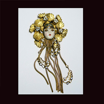 One of My Favorite Art Deco Brooches