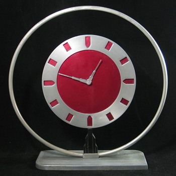 "Diecasters ""Phantom"" Clock - Clocks"