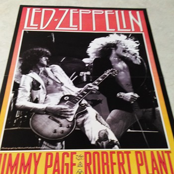 LED ZEPPELIN 1977  DOUBLE SIDE PAGE - Posters and Prints