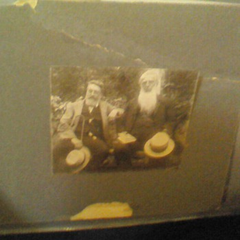 Antique Photo of NH Naturalist
