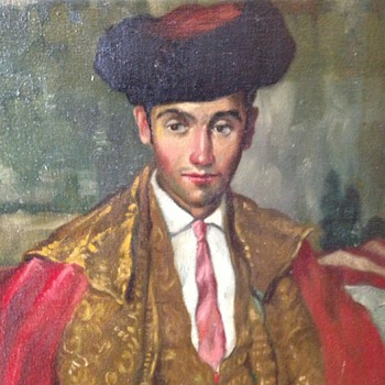Oil painting by Juarez Machado