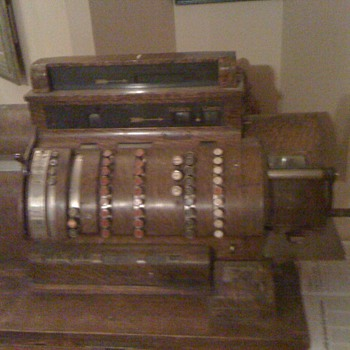 cash register From the national cash register co  - Coin Operated
