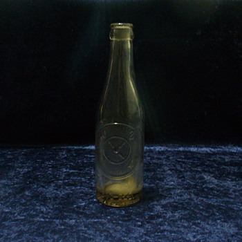 "Dr. Pepper ""Good for Life"" 10-2-4 Bottle circa 1930-1940s"