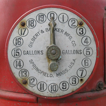 Pre-visible gas pump - Petroliana