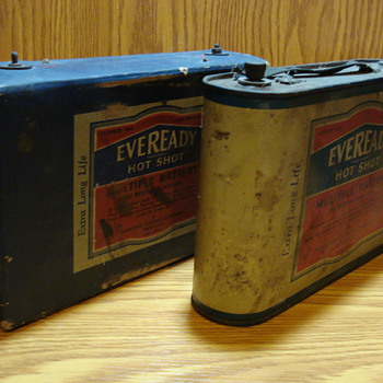 Eveready Hot Shot Batteries  - Tools and Hardware