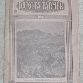 1919 The Dakota Farmer Newspaper