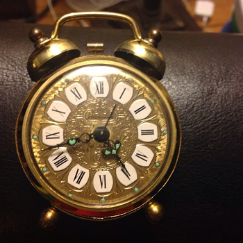 Alarm Blessings Wind Up Clock made in West Germany