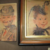 OLD PRINTS TITLED MA AND PA