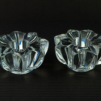 Unidentified Bougeoirs/Candle Holders - Glassware