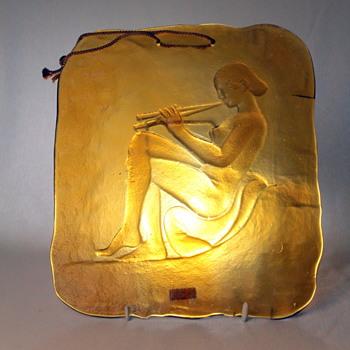 Kurata Glass relief tile - Art Glass