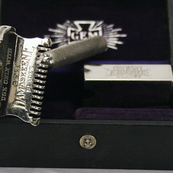 GEM Cutlery Damaskeene Open Comb Safety Razor