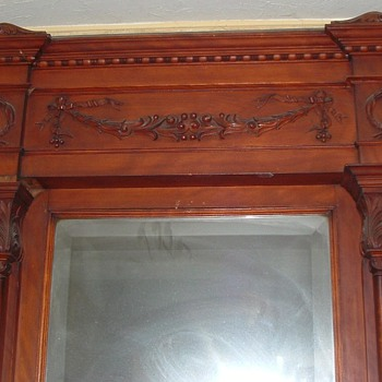 Very large 9' Architecural Entryway Mirror - Furniture