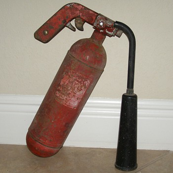 Antique Fire Extinquisher - Firefighting