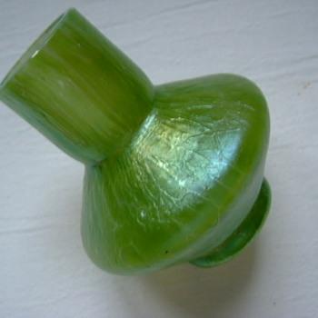 Art Nouveau Loetz Ciselé Vase.