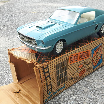 Wen-Mac 1967 Mustang GT  1/12 scale Promo