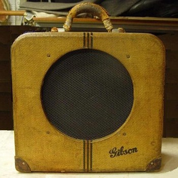 My 1937 Gibson EH-150 Guitar Amp - Guitars