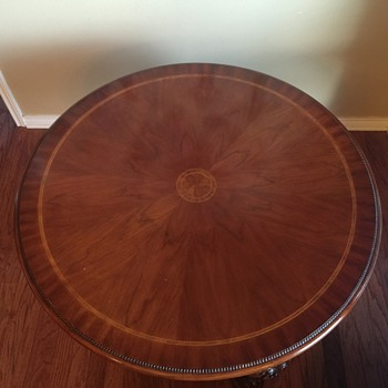 Mahogany Table (?)