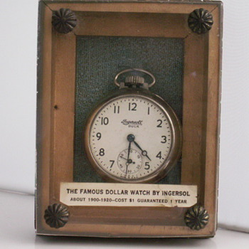 The Famous Dollar Watch By Ingersoll - Pocket Watches