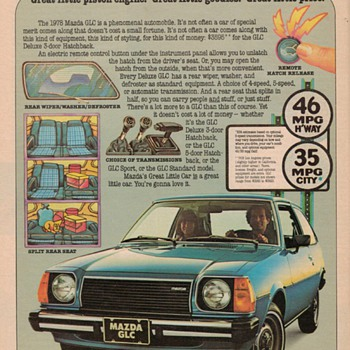 1978 Mazda Advertisement - Advertising